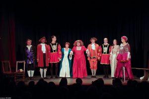 Monsieur de Pourceaugnac au Festival de Théâtre Amateur de Paris (2017)